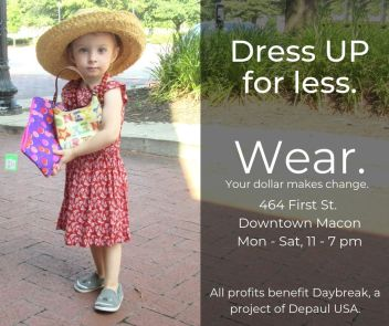 Dress UP for less
